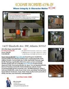 1427 Elizabeth Ave Flyer