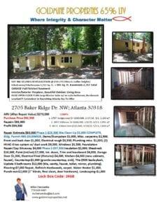 2705 Baker Ridge Dr Flyer